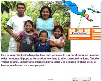 La familia 5 - Learning about the family in Spanish