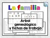 La familia family tree and worksheets