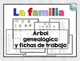 La familia family tree and worksheets