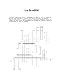 La familia crossword/Family in Spanish crossword