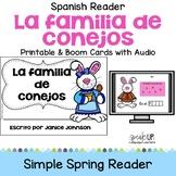 La familia de conejos ~ Spanish Family Spring reader for Easter + BOOM™ Version