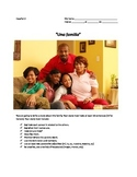 La familia set of 12  compositions. REALIDADES 1. CHAPTER 5A.