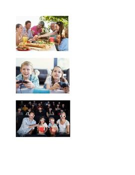 La familia y los verbos