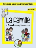 """La famille - A French """"family"""" unit with AVOIR - Distance Learning Compatible"""