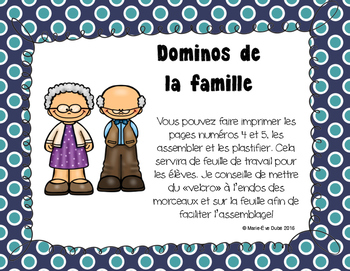 La famille - Dominos