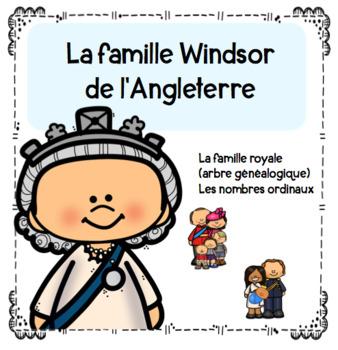La famille Windsor - arbre généalogique