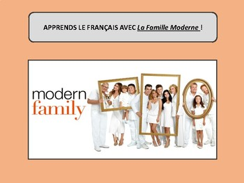 La famille moderne, French family vocabulary and practice by French ...