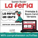 La feria de abril en Sevilla España Printable & Boom Cards with Audio   español