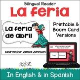 La feria de abril en Sevilla, España ~ Spain's Seville Fair Readers {Bilingual}