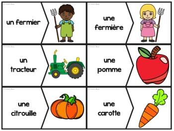 La ferme - 40 puzzles (casse-tête) - French farm