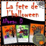 La fete de l'halloween, French Guided Reading level 5, plu