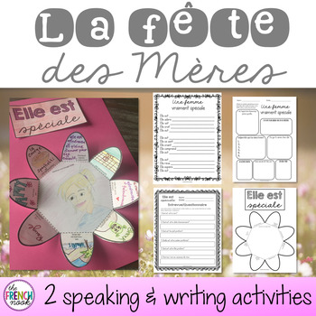 La fête des Mères French Mother's day activities