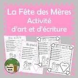 La fête des Mères activité d'écriture – Mother's Day writing activity (French)