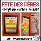 Fête des pères! (comptine, carte et activité) French Father's Day