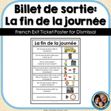 La fin de la journée - French Dismissal Posters