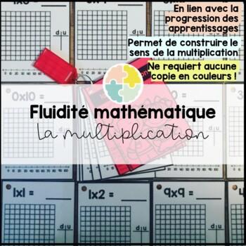 La fluidité mathématique - les multiplications