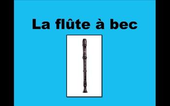 La flûte à bec