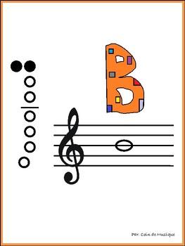 La flûte à bec - en français