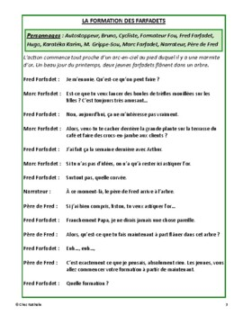 La formation des farfadets (St. Patrick's Day French Reader's Theatre)