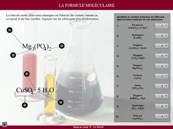 La formule moléculaire