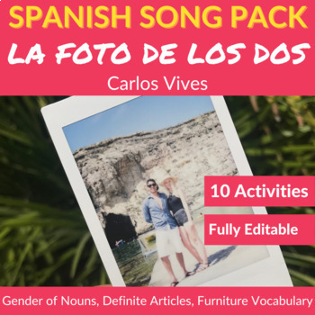 La foto de los dos: Practice the Gender of Nouns and Definite Articles