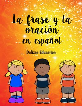 La frase y la oración | sentences in spanish