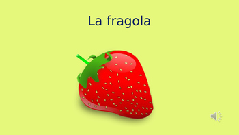 La frutta - Fruit