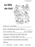 French Immersion, Celebration no.26 - La fête de Holi