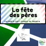 La fête des Pères-Father's Day Card (French)