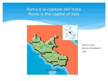 La geografia dell'Italia/The Geography of Italy