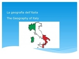 La geografia dell'Italia/The Geography of Italy