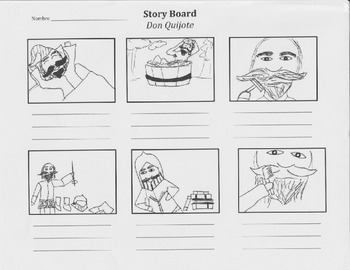 """La gran aventura de Alejandro"" Chapters 4-9 Daily Routine Storyboards"