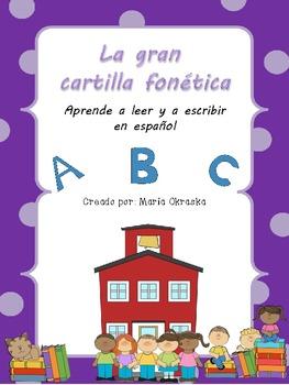 La gran cartilla fonética (programa para aprender a leer y escribir en español)