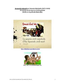 La guerra civil española/Spanish Civil War Lesson