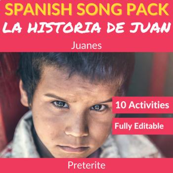 La historia de Juan by Juanes: Spanish Song to Practice the Preterite