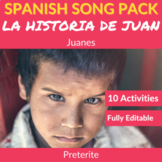 La historia de Juan by Juanes: Spanish Song to Practice th