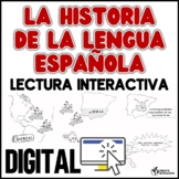 La historia de la lengua española - lectura interactiva