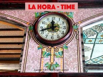 Time in Spanish / La hora en español