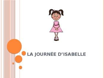 La journée d'Isabelle:  Introducing Time & School Subjects (Bien Dit 1 Ch 4)