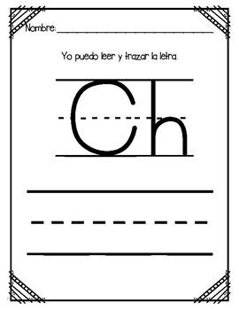 Aprendiendo la letra Ch