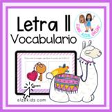 La letra Ll | Vocabulario en Español | Spanish Vocabulary