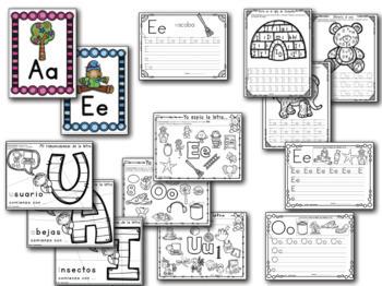 La letra de la semana #1 (Letras Aa, Ee, Ii, Oo y Uu)