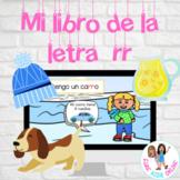 La letra rr | Mini libro de vocabulario con rr | Google Slides