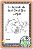La leyenda de Sant Jordi San Jorge Printable Spanish Minibook