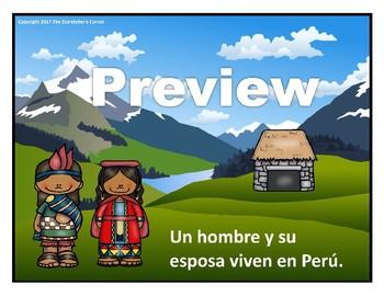 La leyenda de la llama - Traditional Peruvian Legend