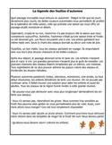 French Immersion Short Story-La légende des feuilles d'automne
