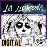La llorona Digital Assignment for Spanish Class