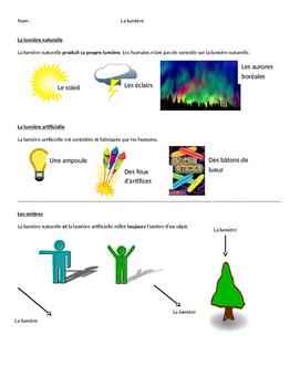 La lumière - un guide visuel