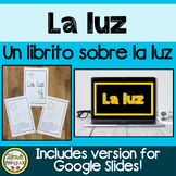 La Luz NGSS Aligned Light Mini Book in Spanish