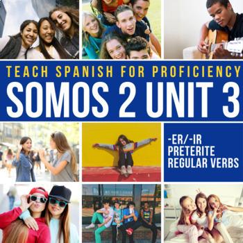 SOMOS Spanish 2 Unit 3 (-er/-ir preterite regular): La madre de Jasón